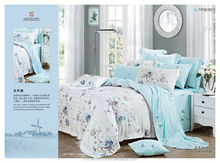 The Most Popular Flowering cotton dobby Made in China Tencel bedding sets