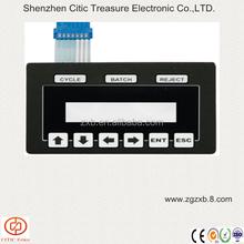 Custom PC/PET Keypad Button membrane keyboard