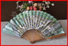 Customized bamboo gift Chinese fan for promotion