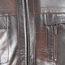 2015 New Style Man PU Silm Jacket