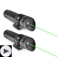 532nm Tactical Green Laser Sight Hunting Rifle Dot Scope with On/off Swith Picatinny/weaver Mounts + Barrel Mount