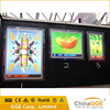 Hot selling advertising led crystal acrylic frame lighting box for exhibition display