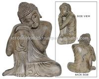 BUDDHA RESIN NATURAL STONE COLOR