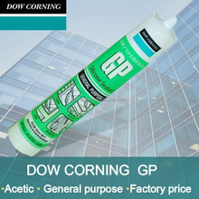 Dow Corning acetic glass silicone sealant with fast drying and super grade