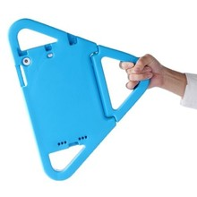 Triangle Shape Shockproof EVA Case for iPad mini 3 with Holder