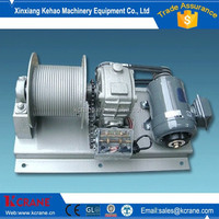1-120t fast line speed electric winch