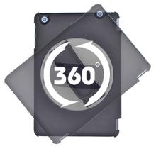 New design 360 degree Rotating Handhold case for ipad Mini ipad 2/3