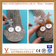plush toys simple sock puppet