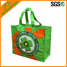 Recycle printed special laminated non woven shopping bag