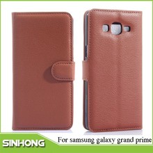 Genuine Flip Leather Case For Samsung Galaxy Grand Prime,For Samsung Galaxy Grand Prime