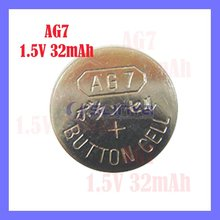 Button 1.5V Cell Silver battery AG Series AG7