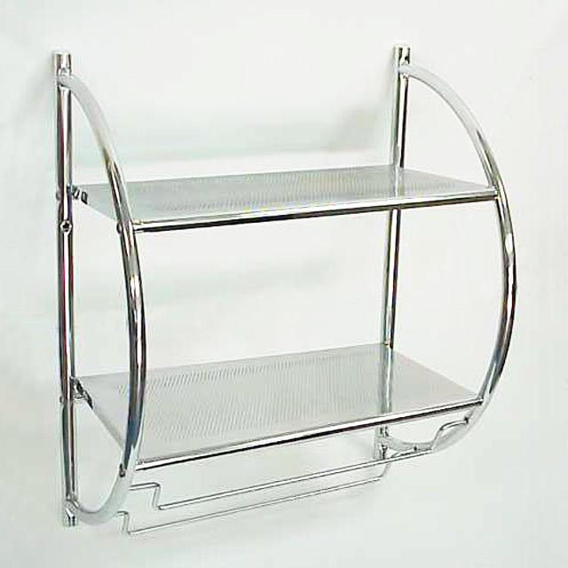 Cool  Spot Resist Brushed Nickel Metal Bathroom Shelf At Lowescom