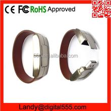 leather Bracelet usb flash drive, wrist usb, hand band usb flash drive