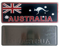 local special features personality decorative license plate