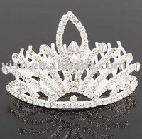 princess rhinestone tiara comb
