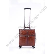 Newly Imitation Leather Bussiness Laptop Luggage