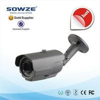 Sowze 3.6mm/6mm fixed lens Waterproof 3MP Bullet IP Camera SW-IP2150NB-AB-IR