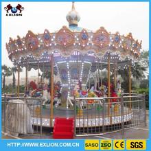 [manufacturer]amusement playground outdoor carousel rocking horse
