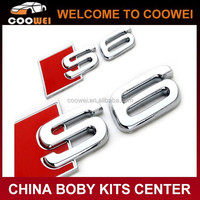 High quality ABS material S6 Emblem for Audi S6