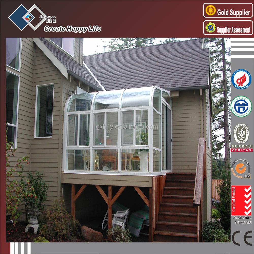Aluminium veranda, draagbare serre, concurrerende prijs aliminium ...