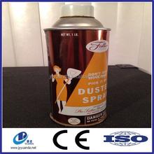 Customize refillable aerosol packaging can, aerosol tin can, tinplate spray can