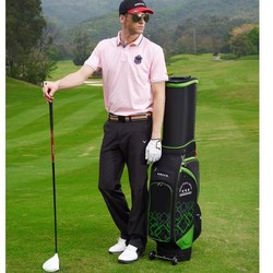 Helix golf cart bag with wheels /staff golf bag with wheels / light weight golf bag with wheels