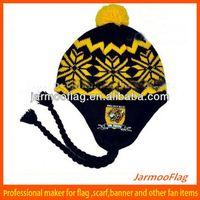 custom beanie hat with ear muff