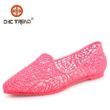 2015 ladies summer sandal shoes roman style high heels sandals pvc jelly sandals shoes for women
