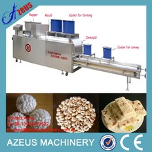 Crispy rice cake machine for rice ball with many moulds