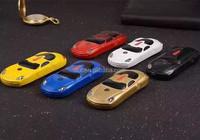 Dual card Fashion mini car shaped mobile phone F5