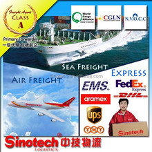 Cheap dhl air freight rates from China to USA
