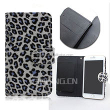 hot selling Leopard grain flip cover case for iphone 5G,for iphone 5G leather case with holder,leather case for iphone 5G