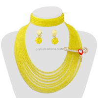 chunky bead necklace handmade bead necklace and earring bead jewelry trends 2014