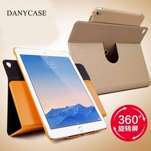 hot sale 360 degree rotating smart stay tablet+cover+for ipad+air+2+leather+case