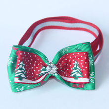 Colorful Handmade Adjustable Dog Ties Pet Bow Ties Cat Neckties Dog Grooming Supplies Christmas Products V1142