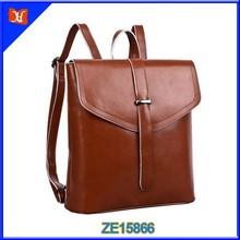 Leather Satchel Backpack Women Fashion Back Bag Student Stylish Bag Backpack School
