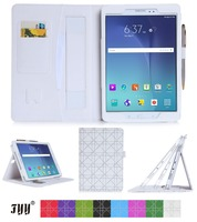 Newest Designs Assorted Smart Tablet Wallet Case For Samsung Tab A
