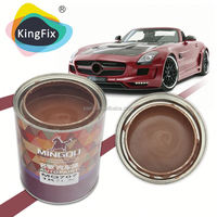 solid colors Strong resilience performance paint car for Previous coatings