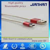dongguanin colorful micro 5pin usb cable, new producr fabric micro usb cable, rainbow micro usb cable