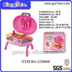 Funny good quality safe material cooking barbecue toy set