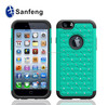 Wholesale silicone phone cover in the popular for Iphone 6 plus customized