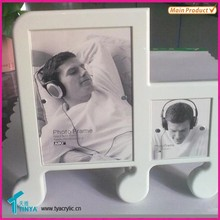 Acrylic Picture Frames For Displaying Vertical Photos On A Desk Or Tabletop