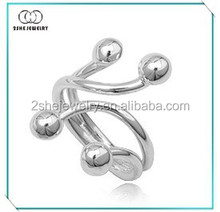 Hot Sale adjustable sterling silver rings