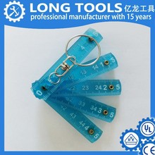top selling and best poplar 1m 2m thick flexible folding plastic ruler as present