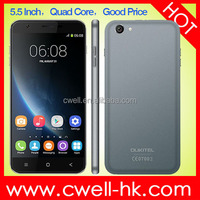 OUKITEL U7 5.5 Inch Android Smartphone MTK6582 Quad Core 1GB RAM 8GB ROM 5MP WIFI 3G A-GPS Dual SIM mobile phones new unlocked