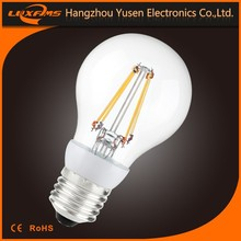 NEW led filament bulb 4w Using in-huose,Developed graphene modified thermally conductive plastic ,low cost and light