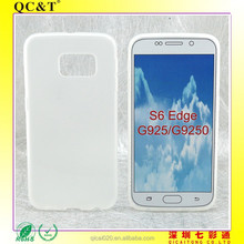 2015 cheapest factory price TPU case cover for Samsung S6 G920F