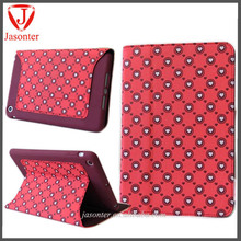 New arrival tablet Floral Rhinestone painted flower covers for apple ipad air 2 case ,for ipad 6 case, pu case