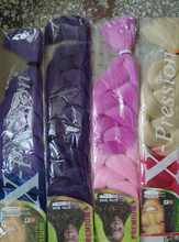 Aliexpress hot selling synthetic ombre color jumbo braid/marley braid hair in stock