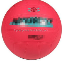 high quality Neoprene soft pink Beach football American football beach ball for all people